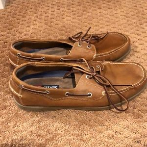 Gently worn slip on boat shoes!